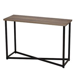 Household Essentials 8071-1 Ashwood Sofa Table | Console Tab