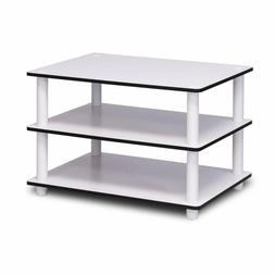 Furinno 11173 Just 3-Tier No Tools Coffee Table, White w/Whi