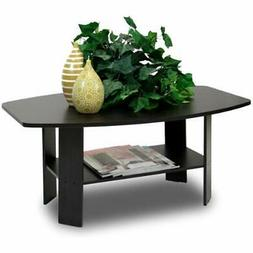 Furinno 11179EX Simple Design Coffee Table, Espresso-FREE SH