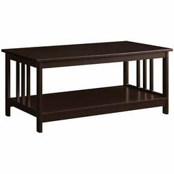 203382es coffee table espresso