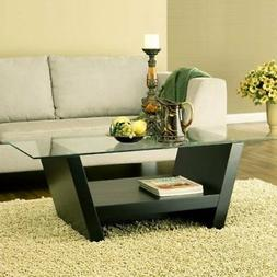 247SHOPATHOME 28220CT Coffee-Tables, Black