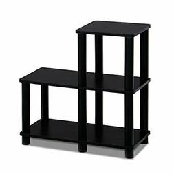 3 Tier End Stand Table Night Tables Furniture Espresso Bedsi