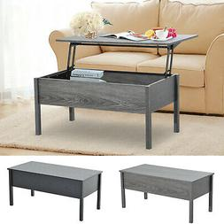 "39"" Modern Lift Top Coffee Table Floating Retractable Lift"