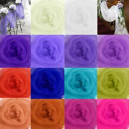 5M Top Table Swags Sheer Organza Fabric DIY Wedding Party St