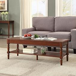 Convenience Concepts 6042184ES French Country Coffee Table,