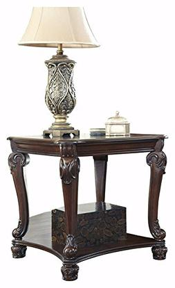 Ashley Furniture Signature Design - Norcastle End Table - Or