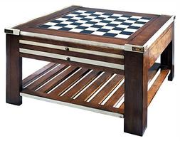Game Table in Ivory