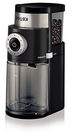 KRUPS GX5000 Burr Coffee Grinder, Electric Coffee Grinder wi