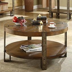 Sierra Round Cocktail Table