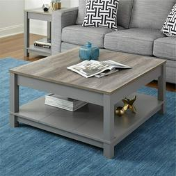 Altra Carver Grey/ Sonoma Oak Coffee Table