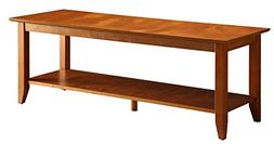 Convenience Concepts American Heritage Coffee Table with She