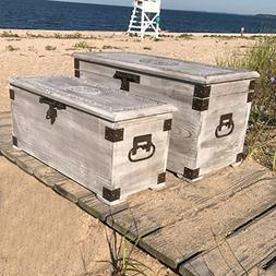 The Americana Steamer Trunks, Blanket Chests, Storage Boxes,