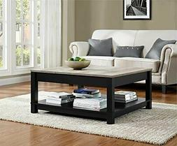 Carver Coffee Table, Black Black Coffee Table