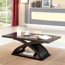 Arkley Contemporary Occasion Living Room Coffee Table X-Shap