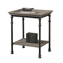 "Sauder 419229 Canal Street Side Table, L: 21.50"" x W: 17.48"""