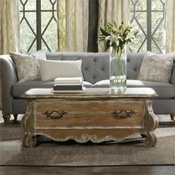 Beaumont Lane Cedar Way Coffee Table in Caramel Froth