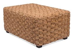 BirdRock Home Checkered Weave Seagrass Coffee Table | Hand W