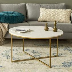 Coffee Accent Table Living Room Modern Round Patio Furniture