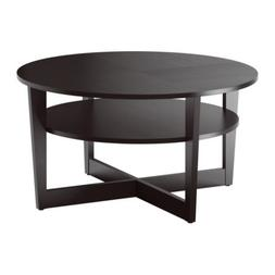 Ikea Coffee Table, black-brown 1424.112020.342
