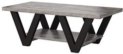 coffee table antique gray