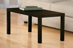 Coffee Table Dark Wood Modern Classic Living Room Faux Wood