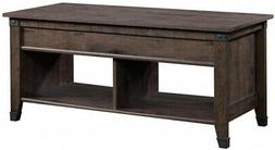 Coffee Table Extendable Wood Frame Classic Style in Coffee O