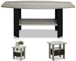 Coffee Table Home,French Oak Grey & Andrey End Table Nightst