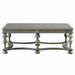 coffee table in graystone
