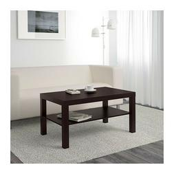 Coffee Table Lack Side End Black Brown TV Stand Laptop IKEA