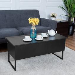 Coffee Table Lift Top Home Living Room Wood Storage Furnitur