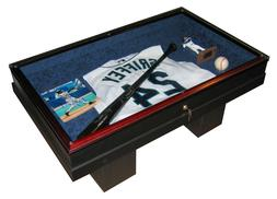 COFFEE TABLE-SPORTS DISPLAY-THE WORKMANSHIP IS SECOND TO NON