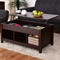 Best Quality Low Coffee Table With Hidden Lift Top and Lower