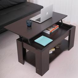 Coffee Table with Lift top with Storage Living Room Modern F