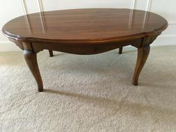 Ethan Allen Country French Coffee Cocktail Table #26-8220 So
