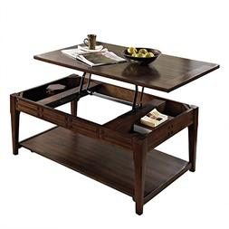 Steve Silver Company Crestline Lift-Top Cocktail Table with