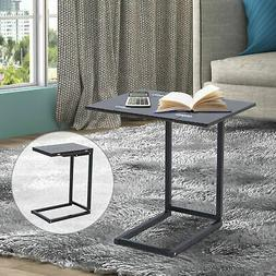 Expandable Side End Tray Table Folding Top Laptop Coffee Hol