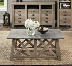 Farmhouse Coffee Table Rustic Best Accent Living Room Countr