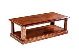 """Forest Designs FD-2140- MR-UA Mission Cocktail Table, 48"""" W"""