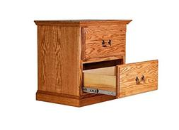 Forest Designs FD-3034-TG- CoO Traditional Two Drawer Nights