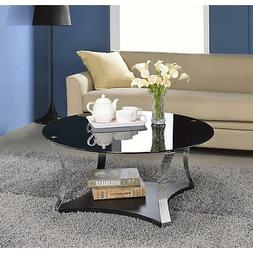 geiger glass metal coffee or end table