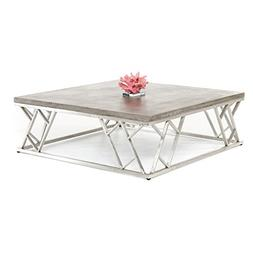 Limari Home Halili Collection Modern Style Concrete Living R
