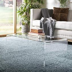Safavieh Home Collection Atka Clear Coffee Table