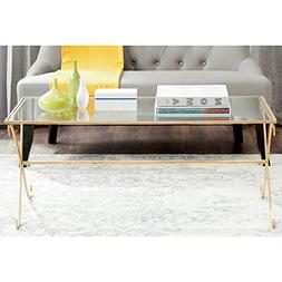 Safavieh Home Collection Lavar Gold Coffee Table