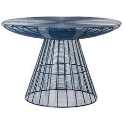 Safavieh Home Collection Reginald Blue Wire Coffee Table