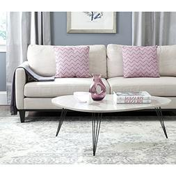 Safavieh Home Collection Wynton Taupe and Black Coffee Table