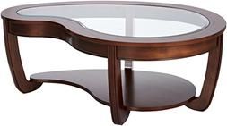 247SHOPATHOME IDF-4336C Coffee-Tables, Brown