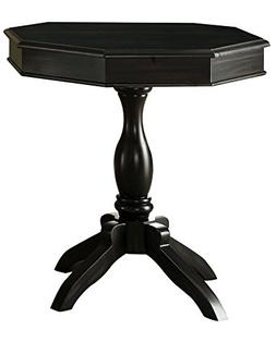 MocaBike IDF-AC101BK Waldon Magazine Rack Side Table, Black