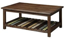 HOMES: Inside + Out IDF-4445C James Coffee Table, Brown Cher