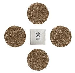 IKEA Ihallig Natural Handmade Seagrass Table Placemat And Co
