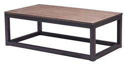 Industrial Wood and Metal Urban Coffee Table